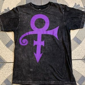 """Prince Full Chest """"The Symbol"""" Graphic Washed Tee"""